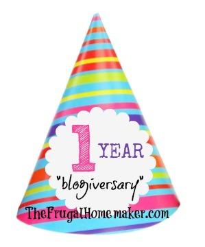 Happy one year blogiversary!!