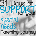31 days of support for your special needs parenting journey