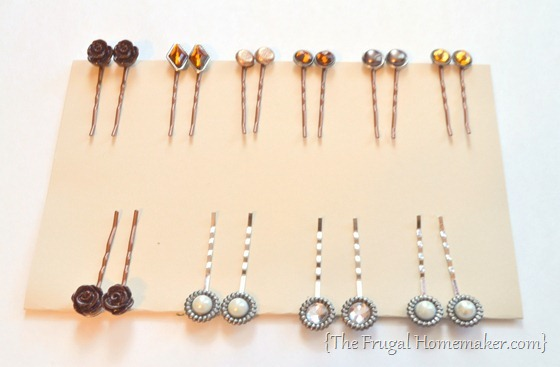 DIY Fashion Bobby Pins