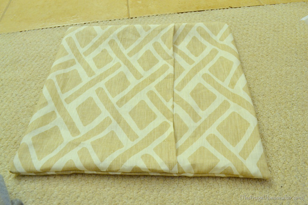 diy easy envelope pillow cover tutorial {day 17 of 31 days of Diy Pillow Covers