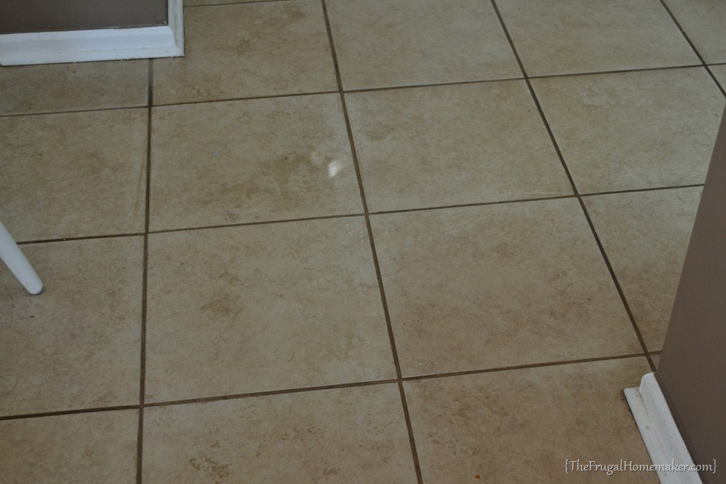 How to clean grout kitchen floor tiles thefloors co for How to clean a kitchen floor
