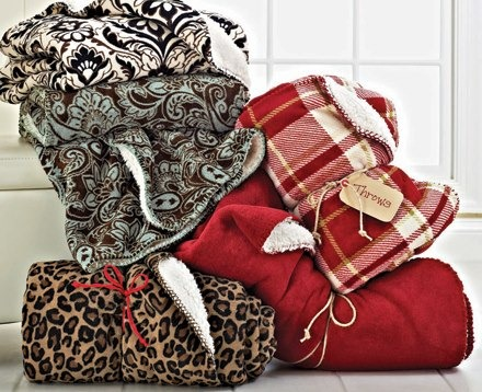 BHG sherpa throw