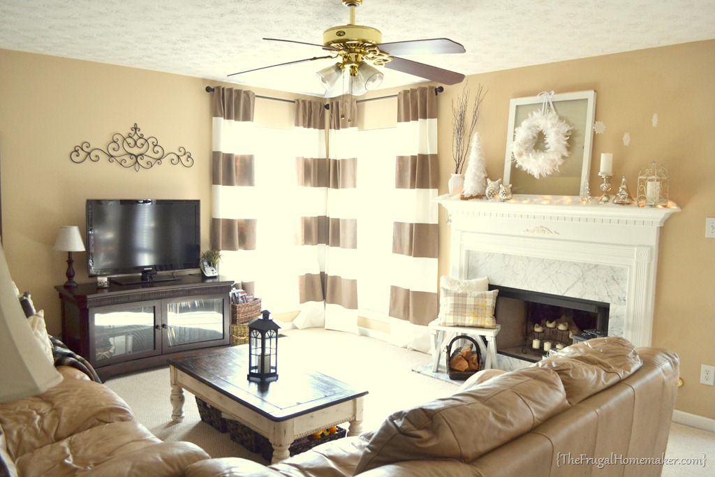 House Tour Living Room Paint Color Ideas With Tan Furniture