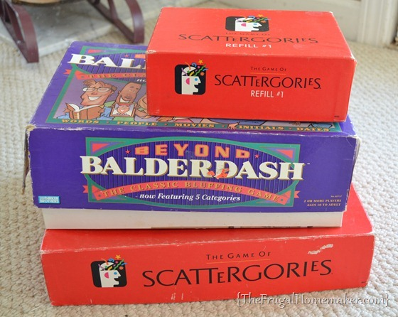yard sale games