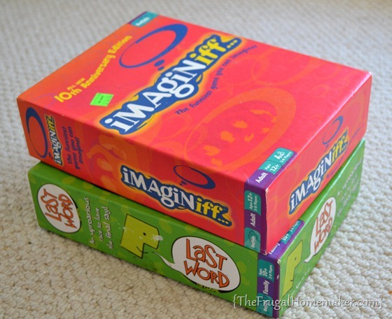 Imaginiff board game