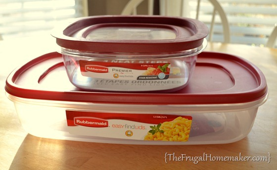 Rubbermaid + Superbowl = a great game