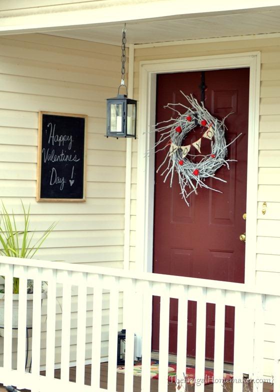 Winter White Valentine's Wreath