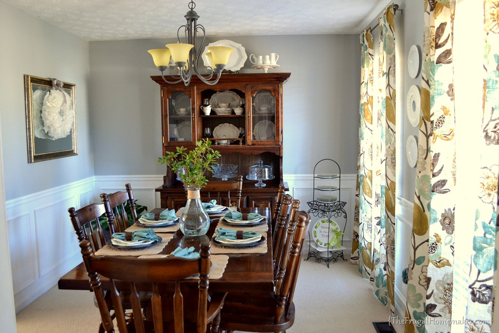 House Tour Dining Room The Frugal Homemaker