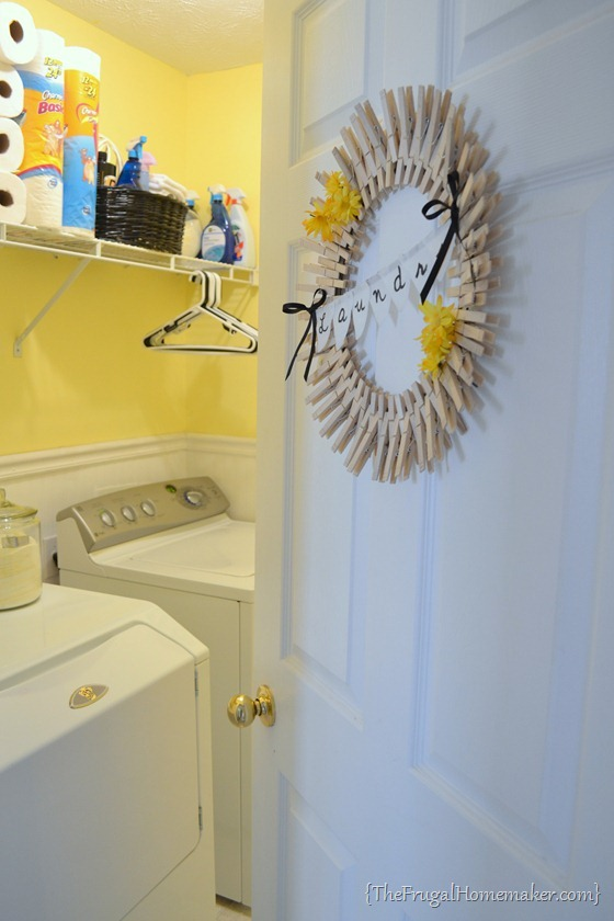 House tour: Laundry Room