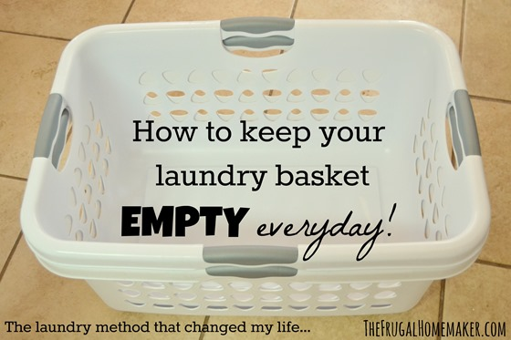 how to keep your laundry basket empty