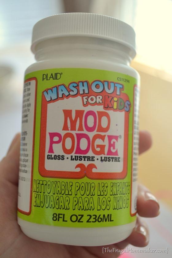 Mod Podge washout