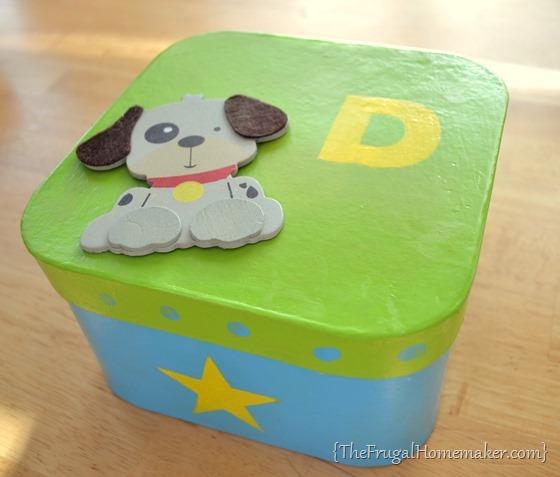 Jewelry box or trinket box