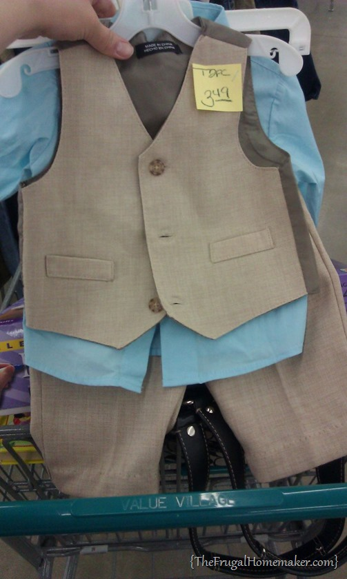 Dakota thrift store suit