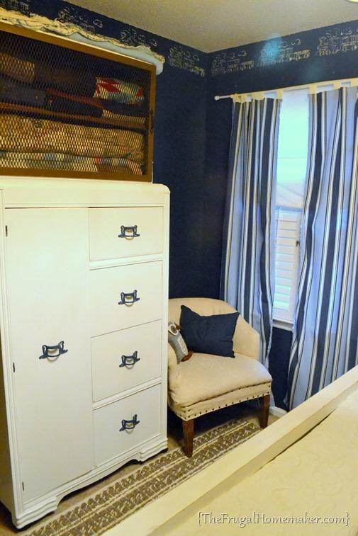 blue boys bedroom