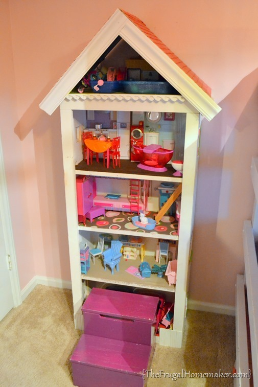 DIY girls doll house