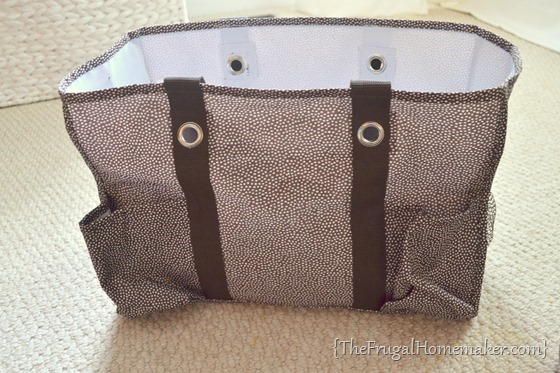 taking monogram off Thirty One organizing utility tote