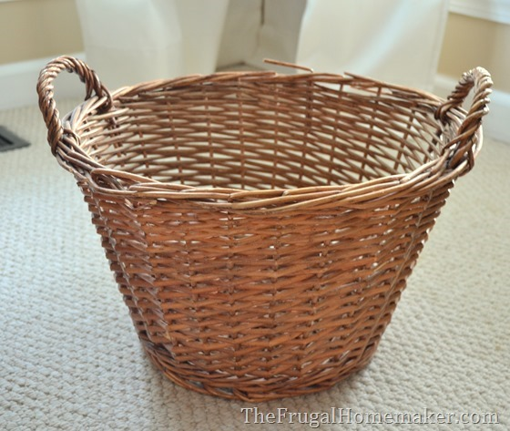 yard sale basket