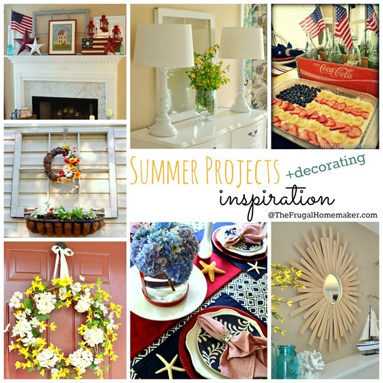 Summer project   decorating inspiration
