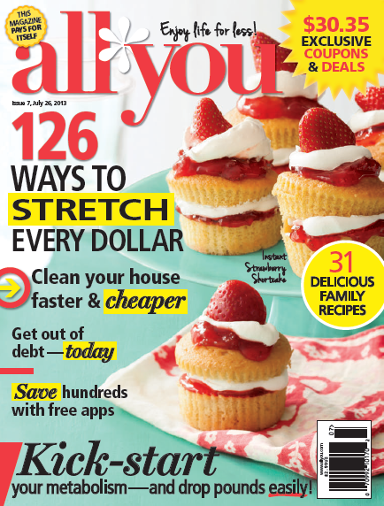 All You magazines July issue