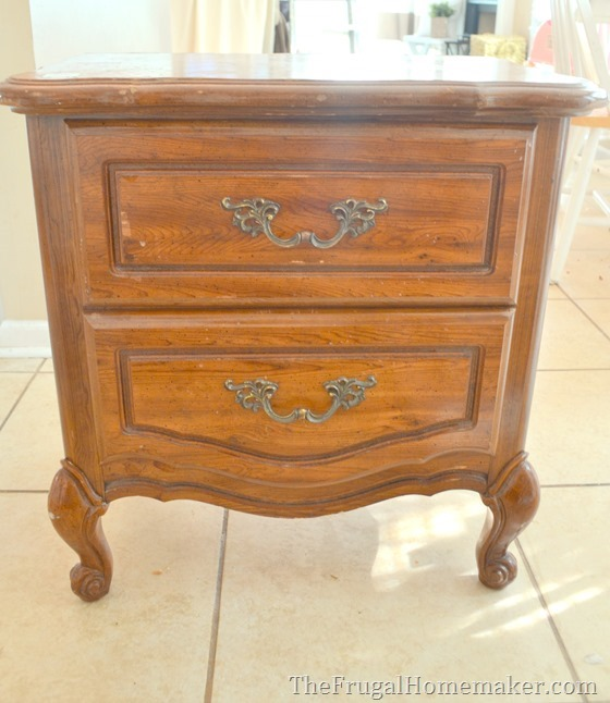 $12 french provincial nightstand