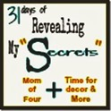 31 days of revealing my secrets