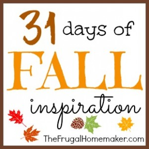 31 days of fall inspiration