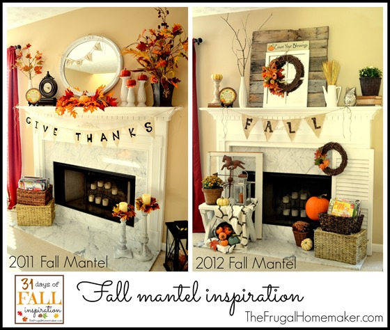 Fall Mantel inspiration