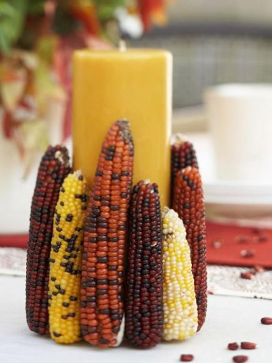 corn candle