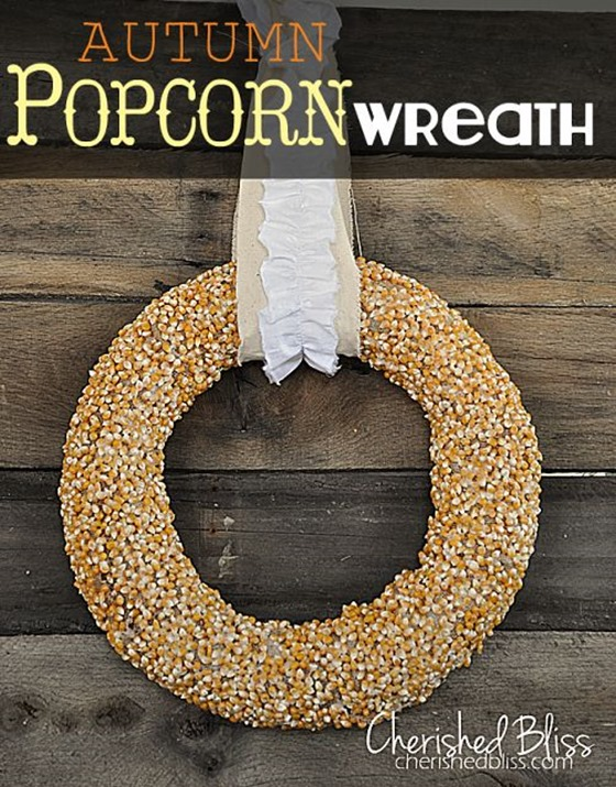 corn kernel wreath
