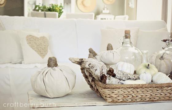 drop cloth pumpkin