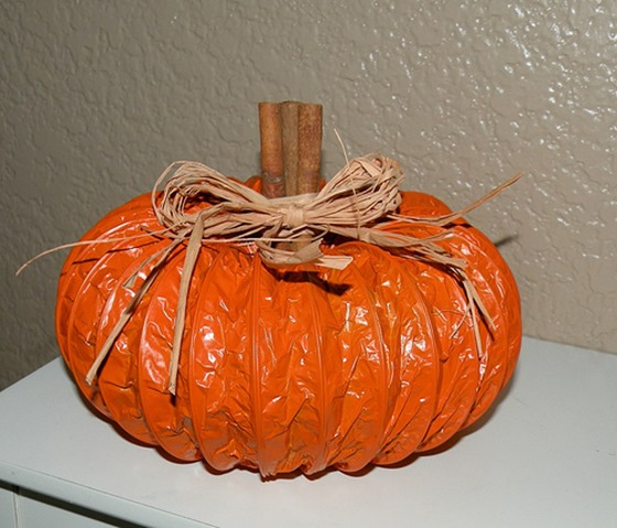 dryer duct pumpkin