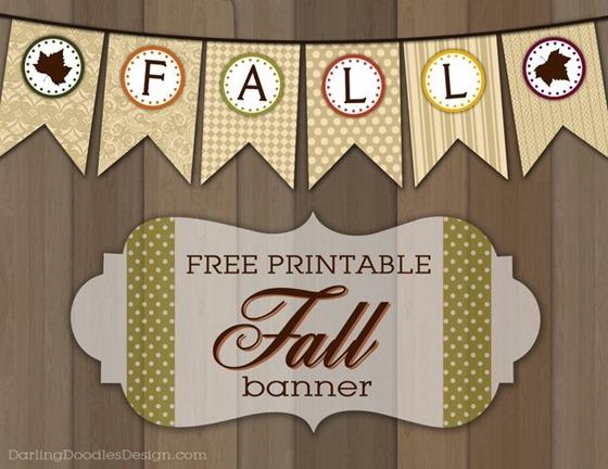 free printable fall banner
