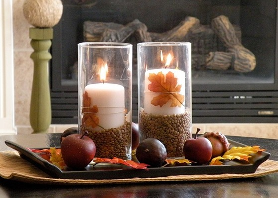 lentils and candles