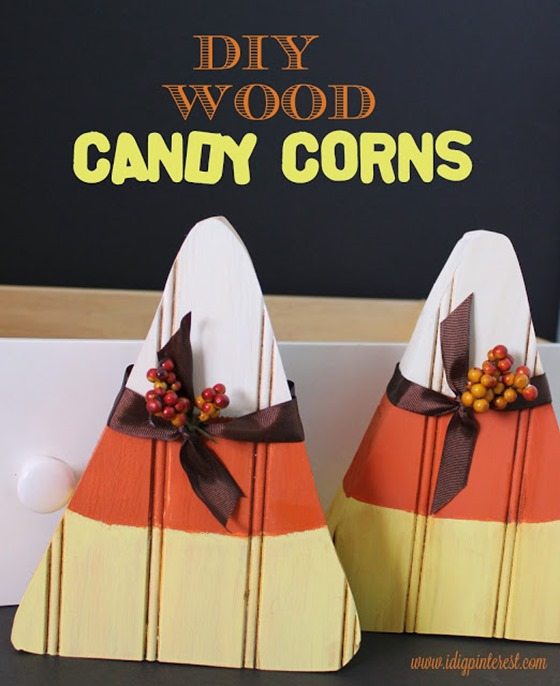 wood candy corns