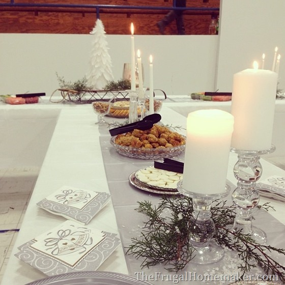 decorating for a white winter wedding