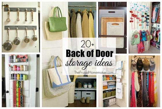 20+ back of door storage ideas 20 Storage Ideas