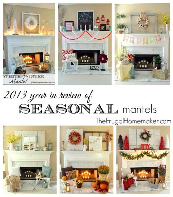Seasonal mantels of 2013