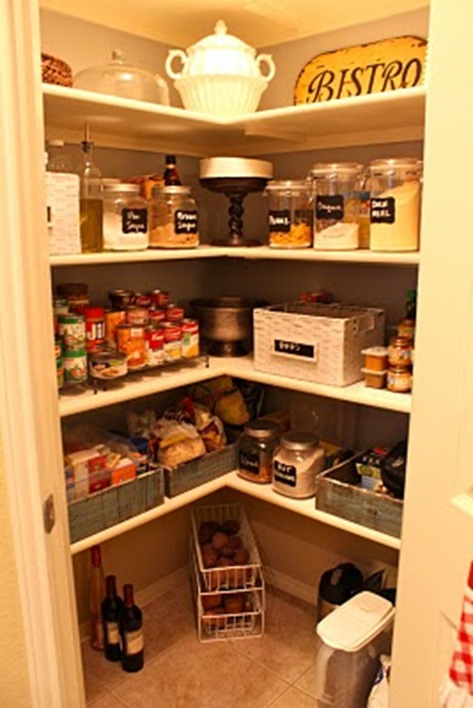 decorate the pantry