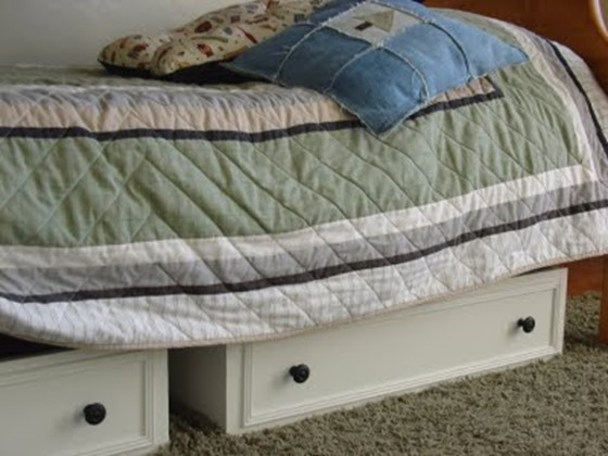 dresser drawers into under bed storage