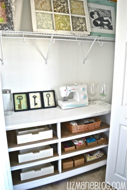 dresser into shelves