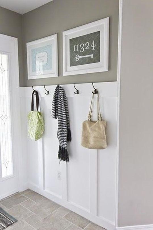 hooks in entryway