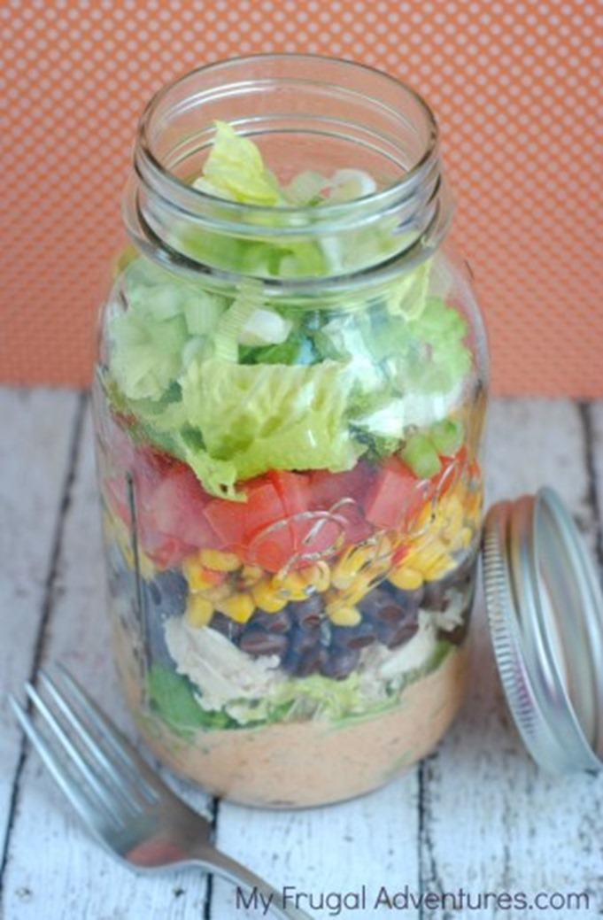 Mason-Jar-Southwest-Salad-Recipe