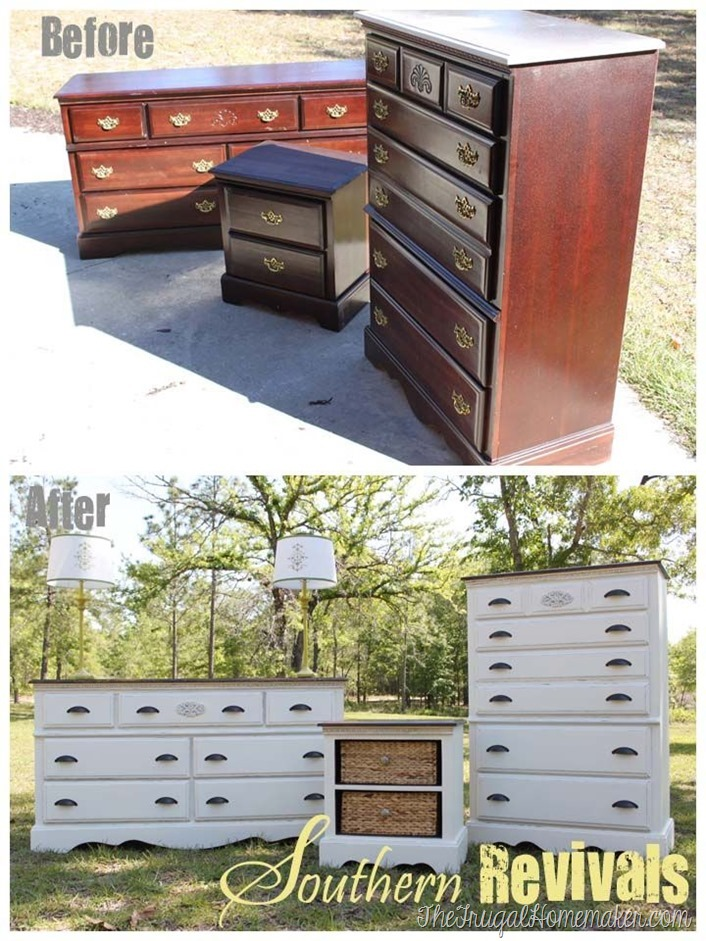 before after furniture