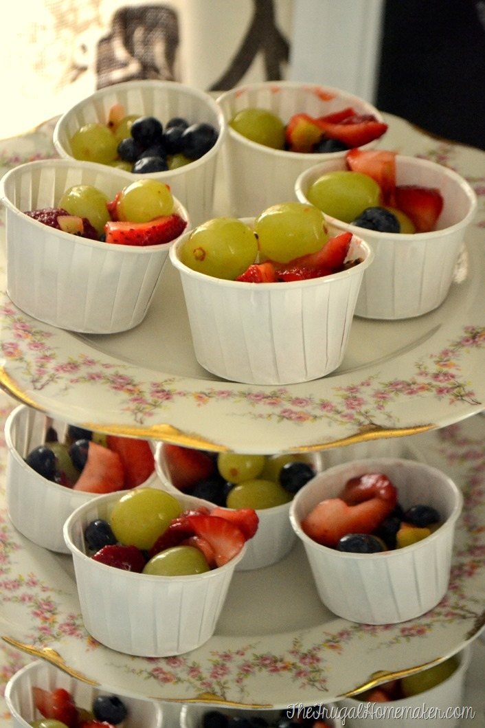 individual fruit salad cups