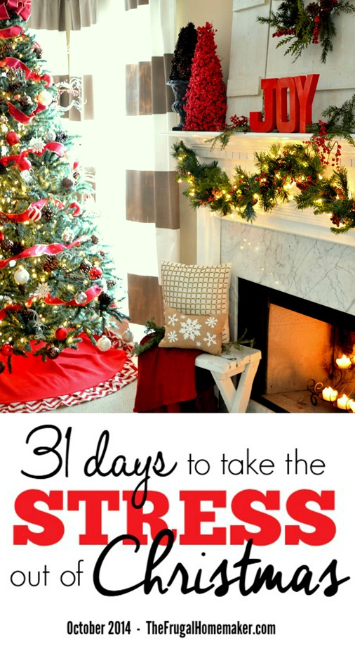 31 days to take the Stress out of Christmas