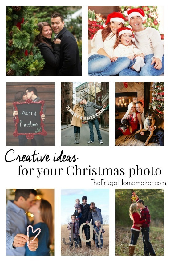 Creative ideas for your Christmas photo or photo card (Day 19 of 31 days to take the Stress out of Christmas)