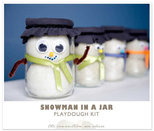 snowman gifts-in-a-jar
