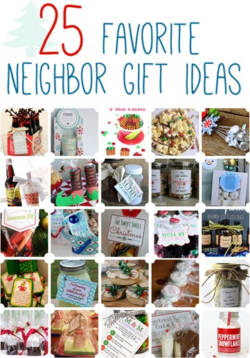 25 Neighbor gifts