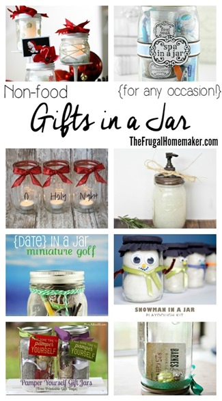 Non-food Gifts in a Jar (for any occasion!)