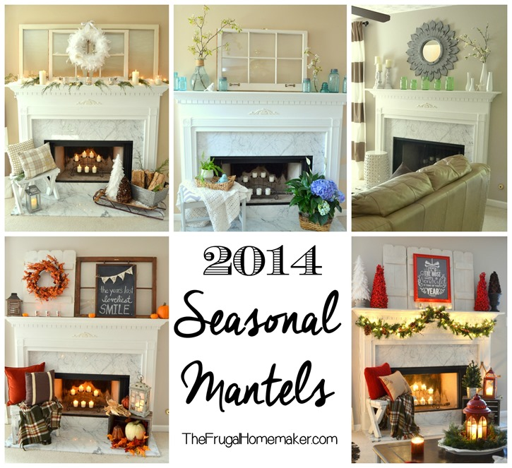 Seasonal mantels of 2014